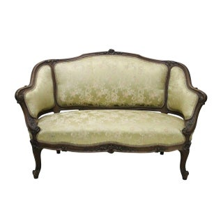 French Victorian Settee