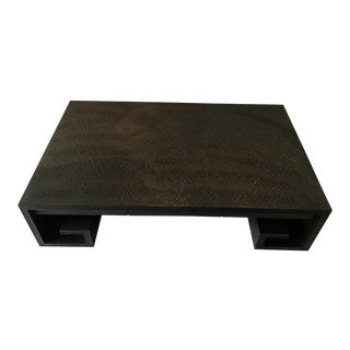 Thomas Pheasant for Baker Furniture Scroll Coffee Table