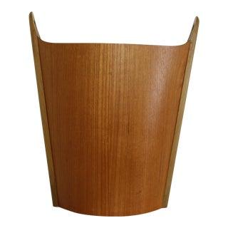 PS Heggin Norwegian Teak Waste Basket