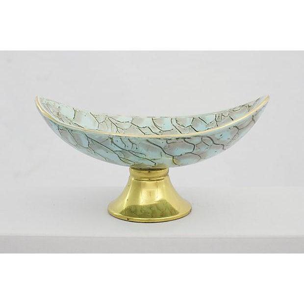 Delft Porcelain Pedestal Bowl - Image 2 of 5