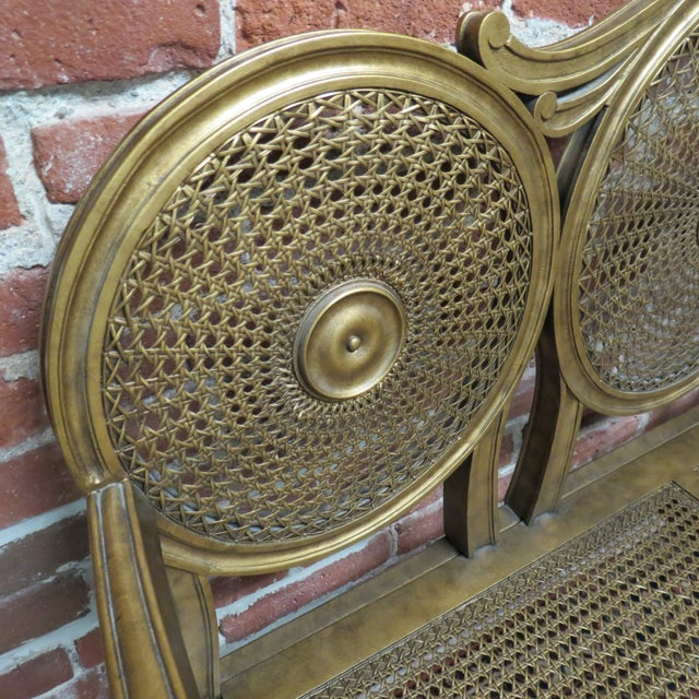 Vintage Gold Bench by Silver Back - Image 3 of 6