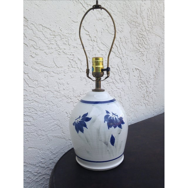Stoneware Ceramic Lamp - Image 2 of 5