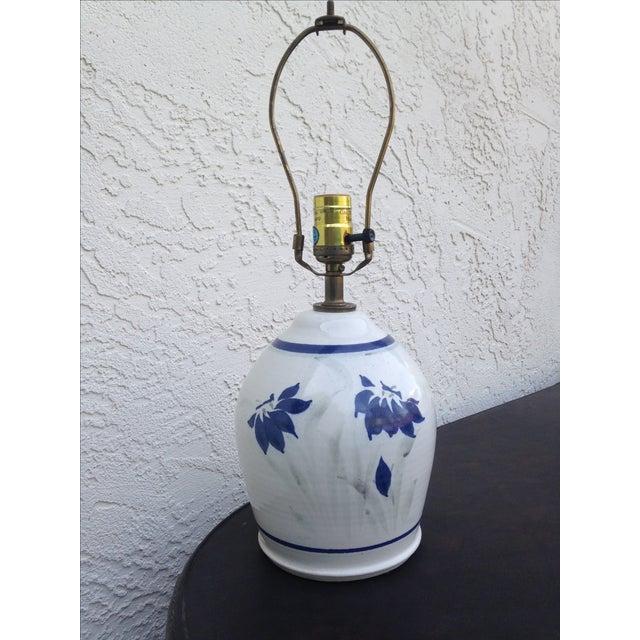 Image of Stoneware Ceramic Lamp