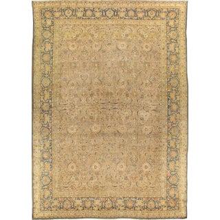 "Pasargad Antique Tabriz Wool Rug - 11'6"" X 16'8"""