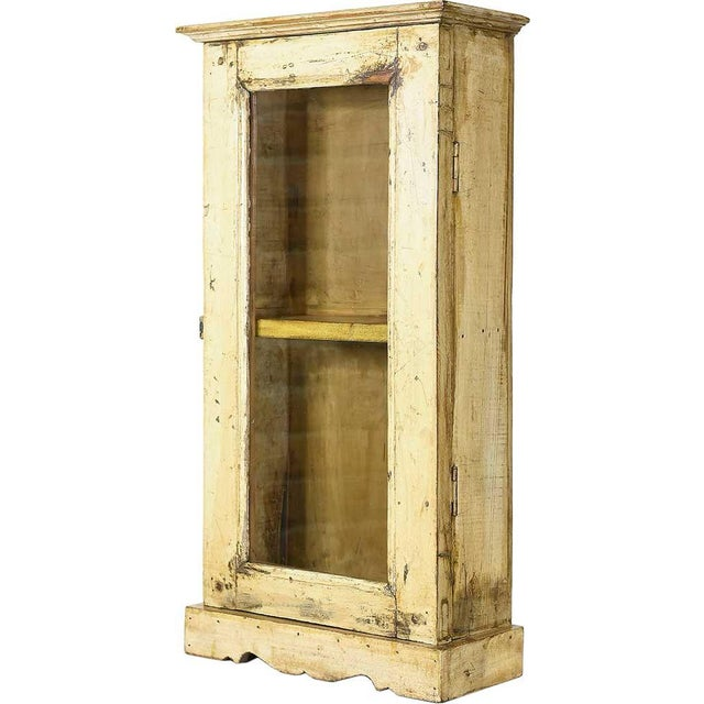 Tuscan Sun Showcase Wall Cabinet - Image 1 of 4