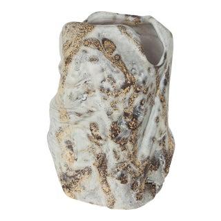 Marcello Fantoni Brutalist Ceramic Vase