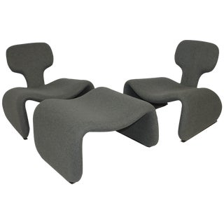Oliver Mourgue Djinn Fireside Chairs - Set of 3