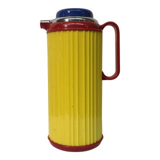 Vintage Multi Colored Pop Art Carafe