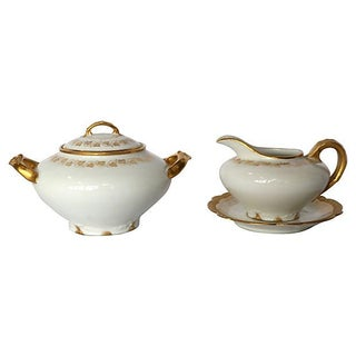 Haviland Limoges Sugar & Creamer