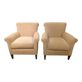 Kravet Couture Upholstery Club Chairs - a Pair