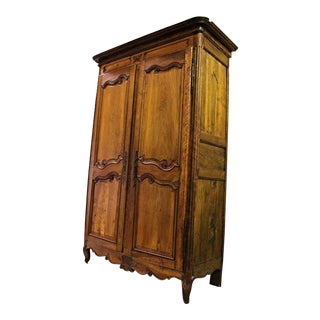 Fine 18th C French Country Armoire Wardrobe