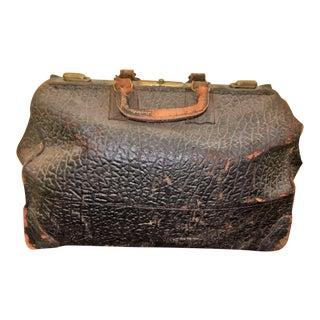 Antique Leather Doctor's Medical Bag