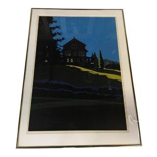 Jon Carsman Untitled Serigraph Print