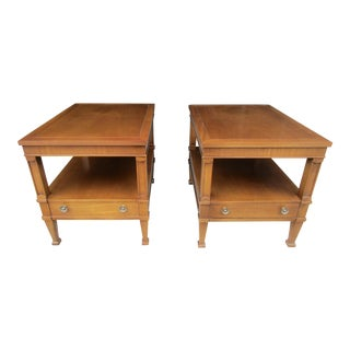 Drexel Triune Collection End Tables - A Pair