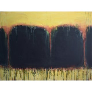 Stephen Remick Yellow Sunset Abstract Painting