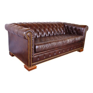 Vintage Schafer Bros Chesterfield Sofa