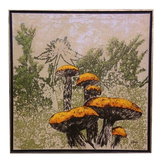 """Wild Mushrooms"" Painting by Gregg"