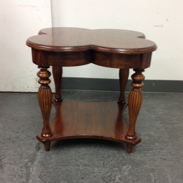 Harden Cloverleaf Accessory Table - Image 2 of 9