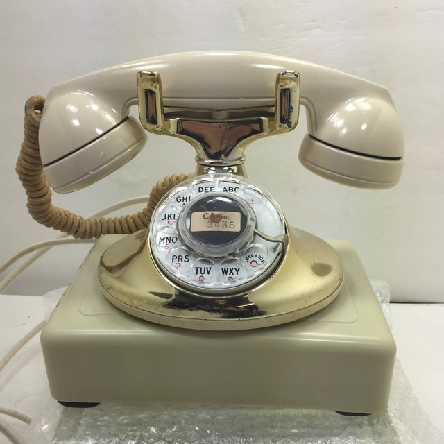 Gold Plated and Ivory Western Electric Phone - Image 2 of 11