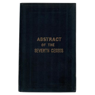 "1853 ""Abstract of the Seventh Census"""
