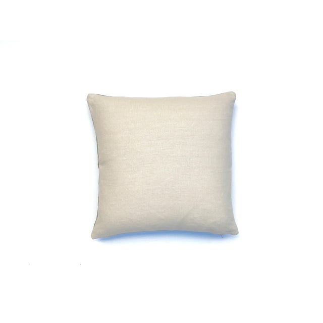 Light Green Throw Pillow With Nui Shibori Circle Design Chairish