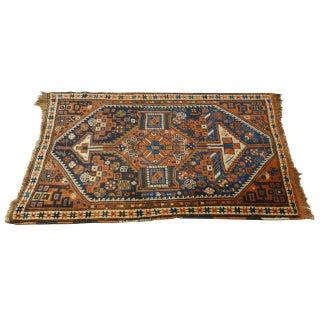 Vintage Afghan Belouch Rug - 3′9″ × 5′
