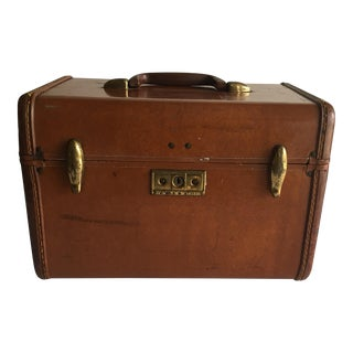 1950s Vintage Samsonite Streamline Cosmetic Case