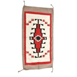 "Navajo Indian Ganado Style Wool Rug - 1'8"" X 3'4"""