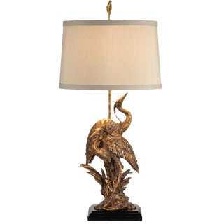 Brass Ibis Table Lamp