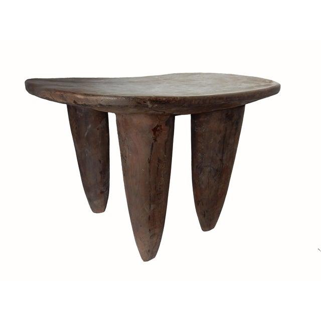 Senufo African Ivory Coast Stool or Table - Image 3 of 7