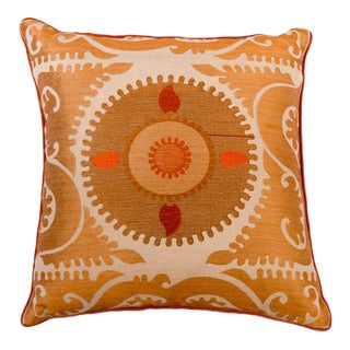 Samamit Embroidered Pillow
