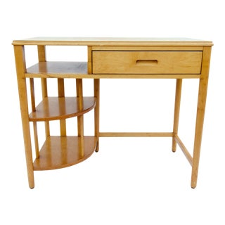 Mid-Century Hill-Rom Maple Desk