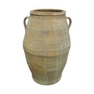 Antique Greek Pithos Terracotta Pottery