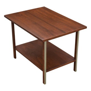 Paul McCobb Calvin Walnut End Table