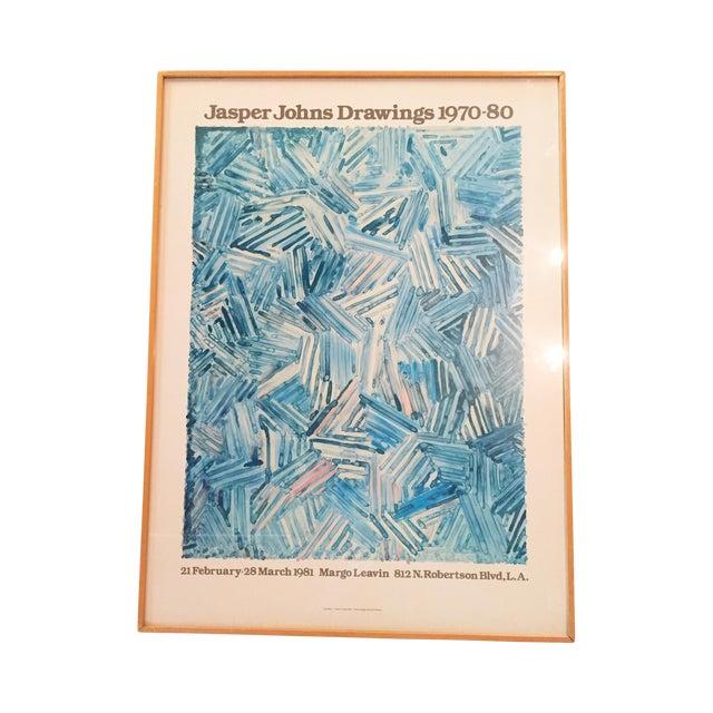 Jasper Johns Drawings 1970-80 Gallery Poster - Image 1 of 7