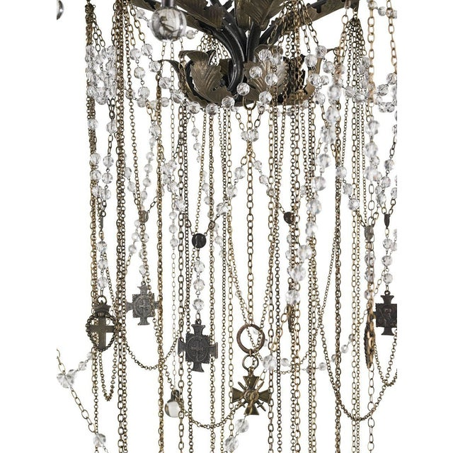 Currey & Co Antiquity Chandelier - Image 2 of 2