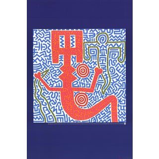 Keith Haring Untitled (1984)-1990 Poster