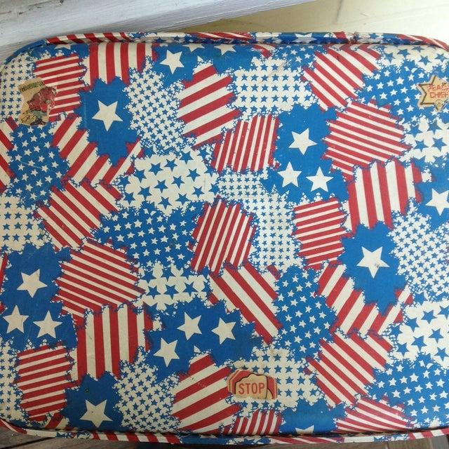 Patriotic Vintage Child's Suitcase - Image 4 of 5
