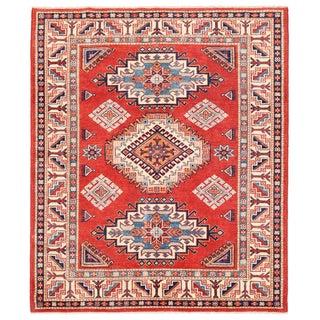 """Pasargad Kazak Wool Rug - 4' 9"""" X 5' 8"""""""