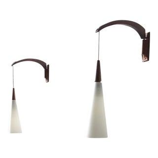 Mid-Century Danish Hanging Lamps - A Pair
