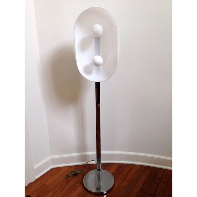 Chrome Floor Lamp - Image 2 of 10