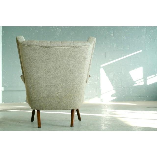Sven Skipper 1960s Papa Bear Chair Model 91 in the Style of Hans Wegner - Image 9 of 11