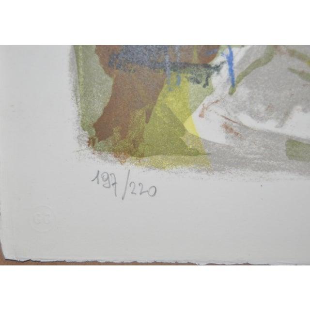 Image of Michel Rodde (1913–2009) Vintage Lithograph