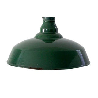 1930s Industrial Warehouse Pendant Light Shade