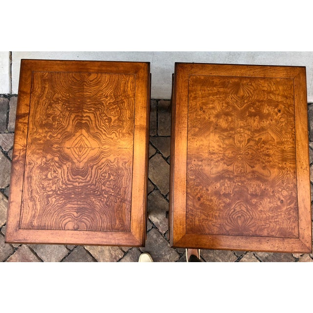 Century Vintage Nightstands - A Pair - Image 3 of 9