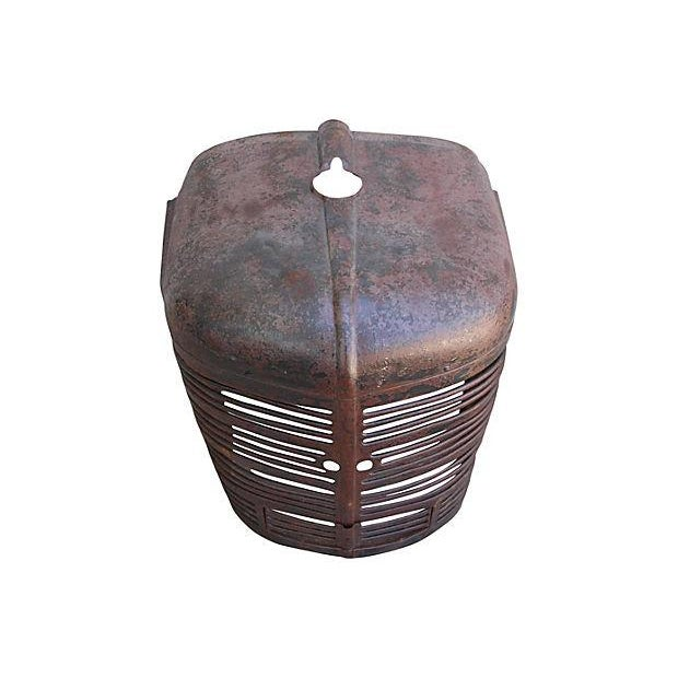 Antique Industrial Farm Tractor Grill Art Piece - Image 4 of 7
