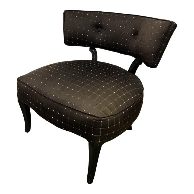 Billy Haines Style Slipper Chair - Image 1 of 10