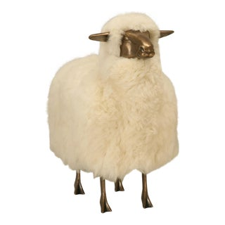 Claude Lalanne Style Solid Bronze Sheep