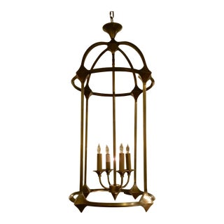 Transitional Currey & Co. Brass Bellario Lantern