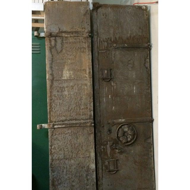 Image of Industrial Metal Castle Door